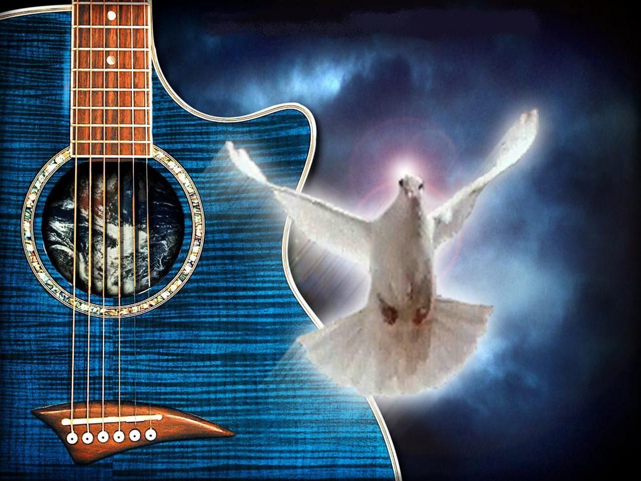 Христианские музыкальные открытки поздравления с днем рождения